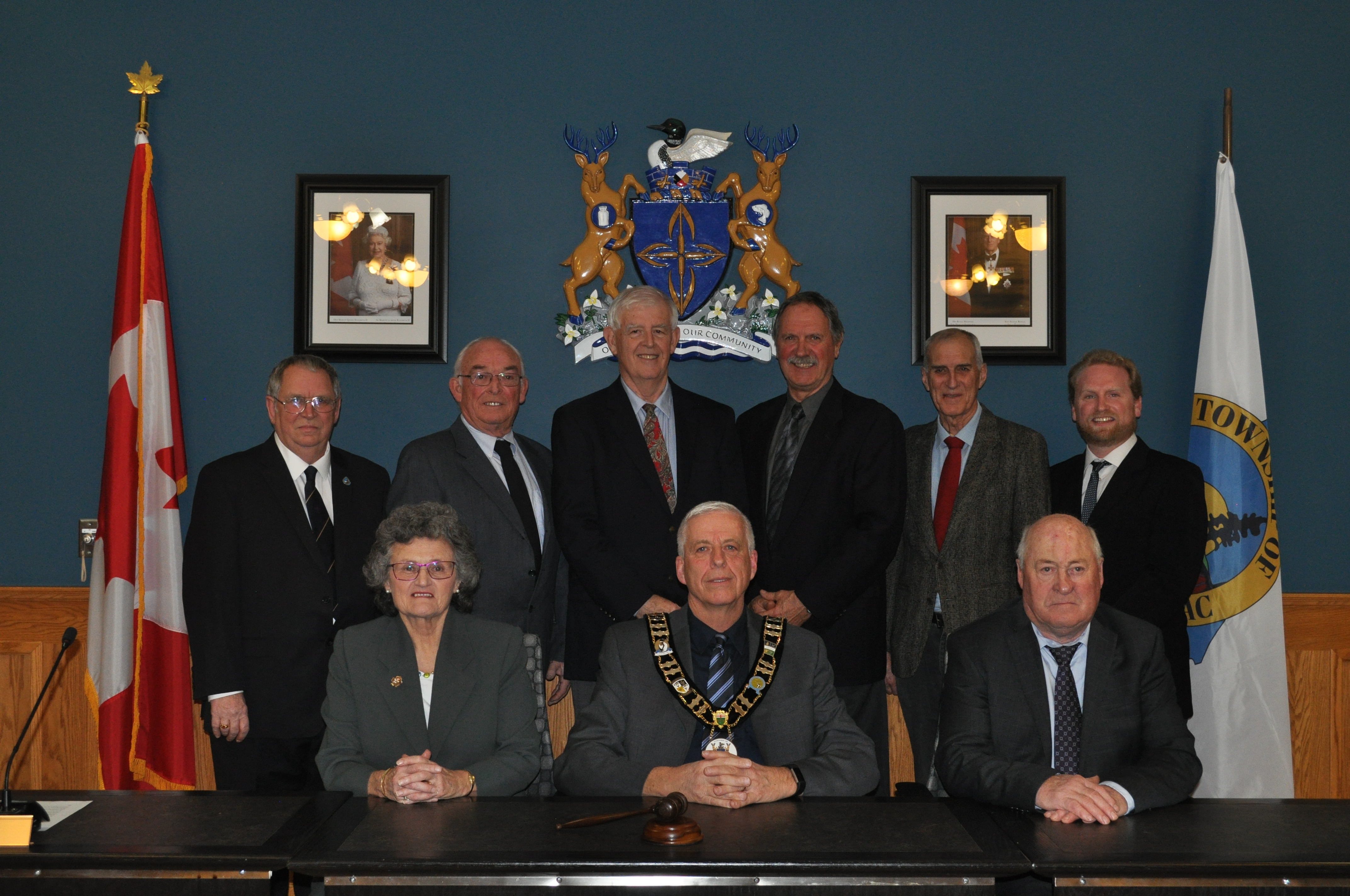 Mayor and Council for 2018-2022 term