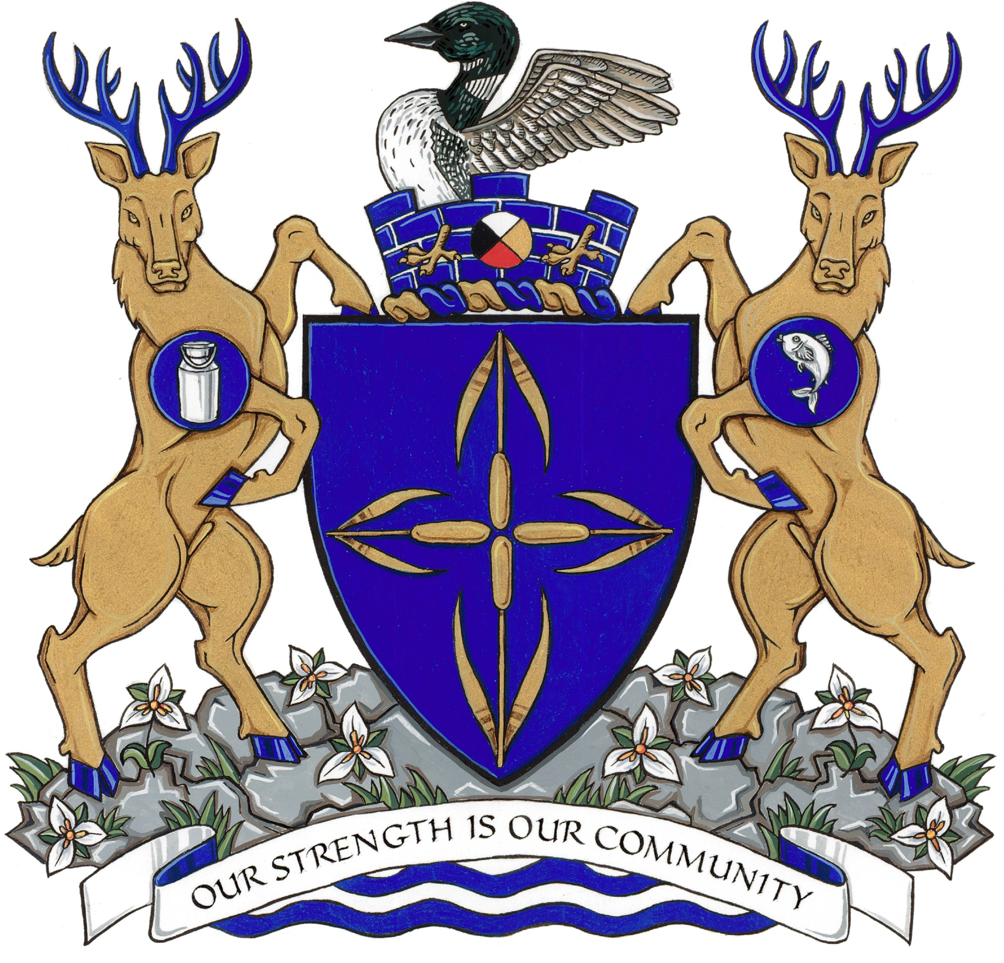 South Frontenac Coat of Arms