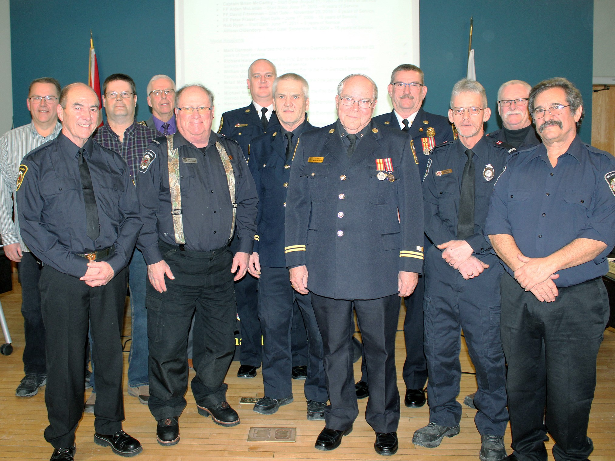 Township of South Frontenac - Fire Honourees
